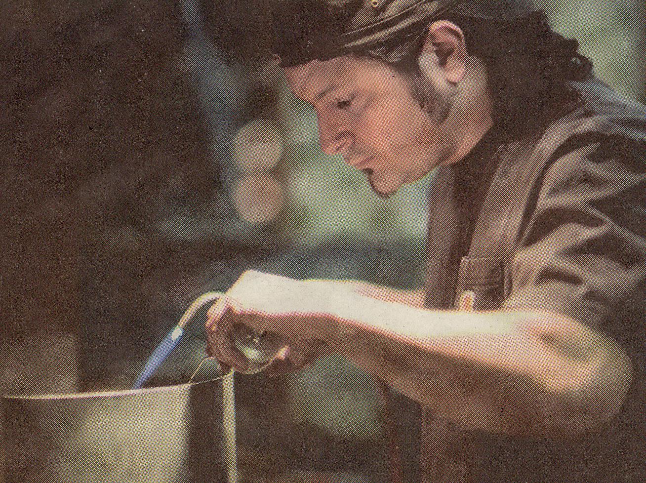 Diego at Work